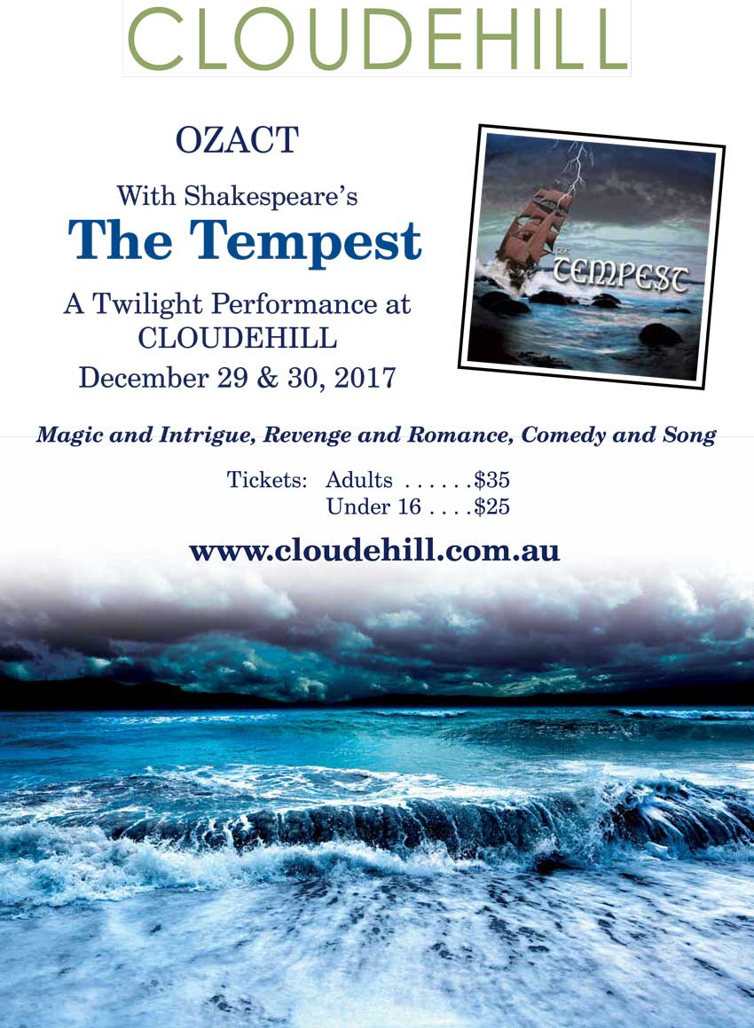 The Tempest at Cloudehill